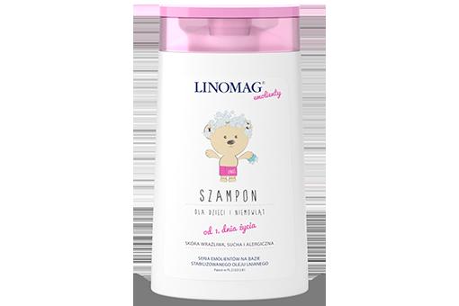 LINOMAG emolienty szampon