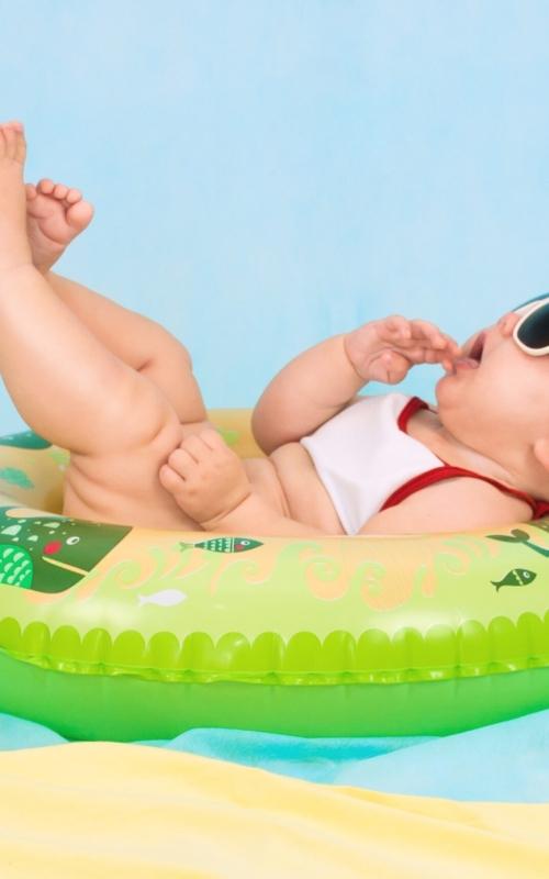 O czym trzeba pamiętać podczas wizyty z dzieckiem na basenie?